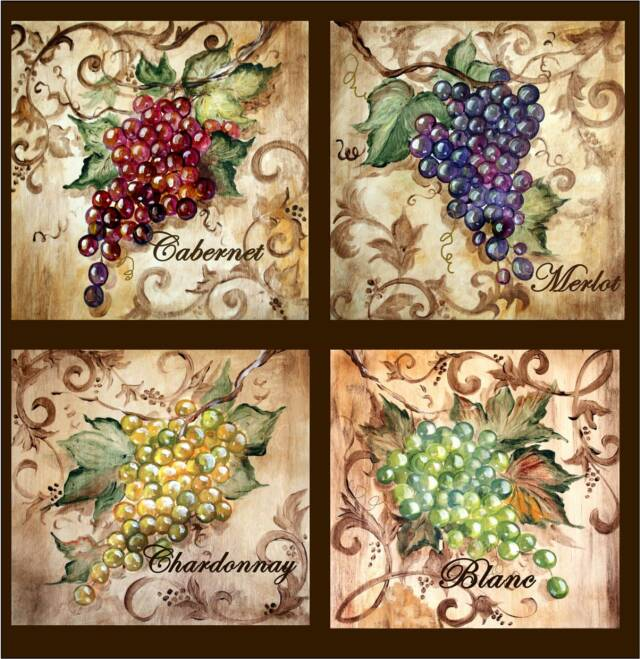Poppy Hill Tuscan Kitchen: Tre Sorelle Art For Home Decor