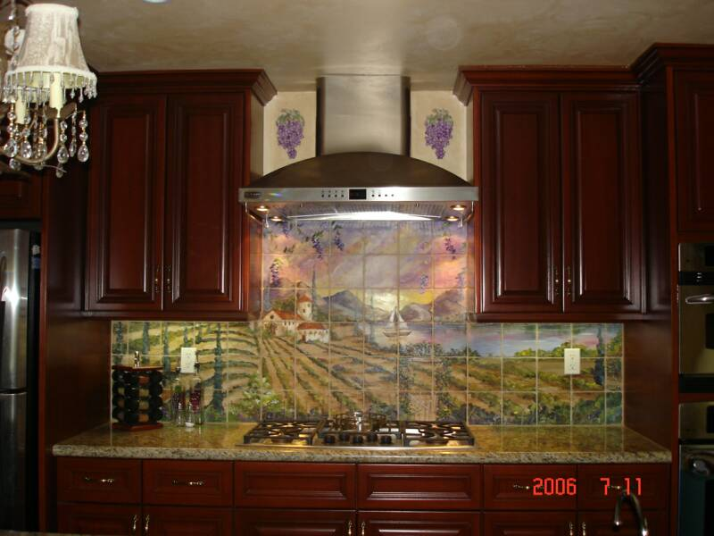 Kitchen Floor Border Tiles